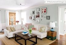 .living room. / Cozy area for family and R&R / by Krystle Park