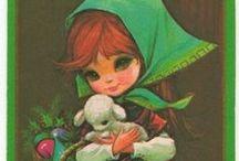 Vintage Holiday Illustrations