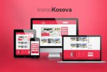 Immokosova Website / This is the website we made for the real estate company Immokosova