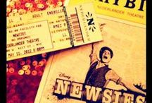 {behold the brave battalion} / #newsies