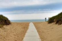 Holland Beaches / Holland, MI is a beach town! Come check out our beautiful sugar-sand beaches and miles of coastline!  / by Holland Michigan