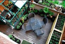 OUTDOOR SPACES / patio, porches, and front stoops i love and ideas for our backyard.