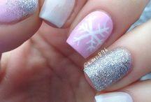 Christmas nails / #christmas #chrismasnails #nails