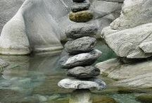 Stones in balance / by Sweet Amaranth »» Seattle, WA » Beautiful, Body-Positive Portrait Photography