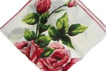 Vintage Handkerchiefs / vintage handkerchiefs / by Kitschy Cupcakes
