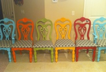 Painted chairs / by Linda Matson
