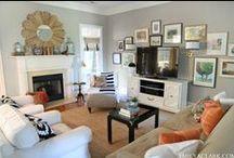 Living Room Redo / by Ginny Ritenour