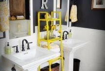 Home: Bathrooms / by Whitney Eide