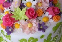 Cake decorations edible