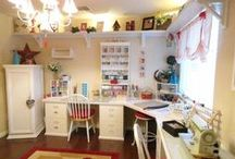Home: craft room / by Whitney Eide