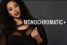Monochromatic Plus Size / by G-Stage | gstagelove.com