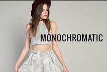 Monochromatic / by G-Stage | gstagelove.com