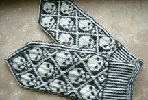 gloves / mittens / knitting and crochet