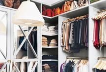organization, closet and vanity room