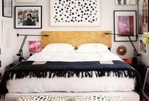 NYC Apt Bedrooms + Closets / I'm starting a gut renovation and need my bedroom to feel inviting + maximize the closet shared with my husband using every inch of space. #NYlife  / by Candy Bigwood