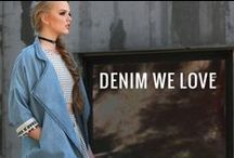 Denim We Love / Denim is a way of life. We take our jeans very serious.   https://www.gstagelove.com/shop/clothing/category/denim_shop
