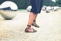 Fabulous Flat Shoes / Flat shoes that do not fall flat