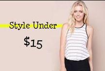 Fashion Under $15