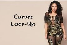 Curves Lace-Up Fashion / Whether you prefer to wear lace-up fashion in a lace-up or lace-down manner, you'll definitely find a lace style that suits your style in this board. At least that's the idea!