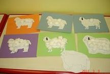 Nursery Rhyme Crafts / Nursery rhyme crafts perfect for preschool curriculum and fun! Itsy Bitsy Spider, Three blind mice, Row row row your boat and other family favourite nursery rhyme crafts.
