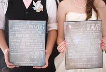 My Wedding Board! / by Mary Beth Barrack