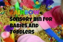 Rainbow Parties and All about Colour / All about colour and rainbows!  Crafts, snacks and even party ideas for preschoolers.