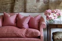 Pink interiors inspiration / Pink isn't just for Bedrooms