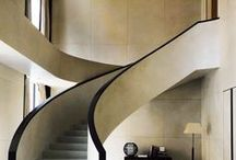 Stair Porn / What goes up, must go down. Stairs that make a statement and often jaw-dropping beautiful too. Contemporary, elegant, sweeping, spiral, classic, modern. In fact, staircase design of every type as long as it's inspiring. Home, house, apartment, residential stairs. Make your hallway the centre of attention.