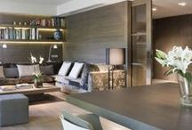 Living Room / Living room design inspiration with sofa's to sink into