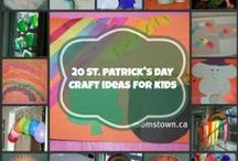 St Patricks Day Fun, Crafts and Recipes / Bring out the Irish and craft away with these St Patrick's Day ideas