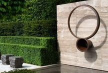 Gardens & great outdoors / Outdoor rooms, pools, manicured gardens and evergreen spaces