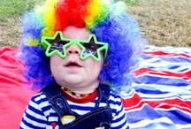 Circus ideas / Capturing circus ideas for playdates and parties! Clowns, popcorn, lions, tigers, big tent, candy floss and circus games