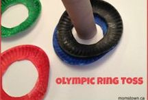 Olympics- Crafts, Snacks and Teachable Moments for the Kids / Winter or Summer Olympics- how to get the kids involved with some fun crafts or cool olympic-inspired snacks!  Tips for using the Olympics for several teachable moments with your kids.