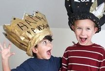 New Year's Eve with kids / 10... 9... 8... Countdown to New Year's Eve with your kids with these fun ideas for a family friendly celebration