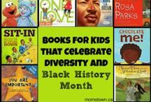 Black History Month / Black History Month crafts and activities for children, toddlers to school age. Lesson plans and activities