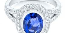 Sapphire Engagement Rings / Sapphires are a great choice for an engagement ring. They are durable, beautiful, high quality, and there are many color choices. Design your own unique ring with us!