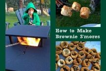 Camping tips, crafts and recipes / Have fun on your family camping trip with craft ideas, tips and recipes!