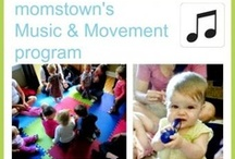 momstown Music & Movement Program / Bring your singing voices and musical vibes to momstown music and movement where we'll sing together, play, dance and learn!