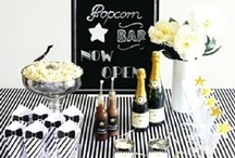 Mama S 60th  / Terry Shepherd's 60th in JHB to be a wow black tie affair, theme black, white with gold... (glitter and sequins welcome)