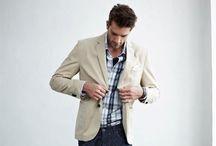Men's fashion  / by Ashley Klonowski