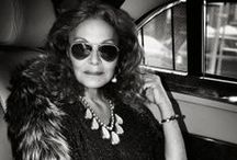 All about DVF! / We love everything about Dianne Von Furstenberg - and her commitment to women empowerment.