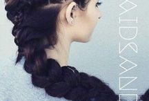 Прически / Hairstyles