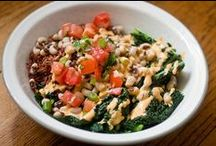 Prosperous Black Eyed Peas / It's a Southern tradition with African and Jewish roots to eat black eyed peas on New Year's Day to bring luck and prosperity to your year. Check out these great recipes to try out whether you are superstitious or just looking for a great, healthy way to consume this versatile legume.