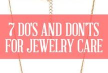 Jewelry Care / We'll help you take care of that beautiful piece of jewelry you have.  / by Joseph Jewelry