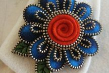 Застежки-молнии/Made from zippers...