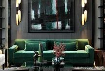 INTERIOR DESIGN / Living Room, Family Room, and General Room Design Inspiration
