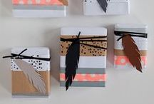 Gift wrapping ideas / by 30s Magazine