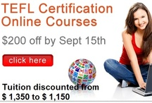 ITA Offers / ITA offers online TEFL/TESOL courses that are taught by university level professors, Job Guidance, and International TEFL Classes.  For more information about cool promos that we are running, please visit our website at: http://internationalteflacademy.com/