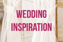 Wedding Inspiration / Things I want to actually do at my wedding!