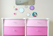 Nursery Chest of Drawers / Trying to choose how to paint our chest of drawers for the nursery